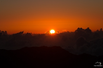 Haleakala National Park Sunrise